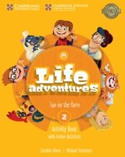LIFE ADVENTURES ACTIVITY BOOK WITH HOME BOOKLET AND ONLINE ACTIVITIES LEVEL  2 FUN ON THE FARM 3º EDUCACION PRIMARIA 453dae600ab