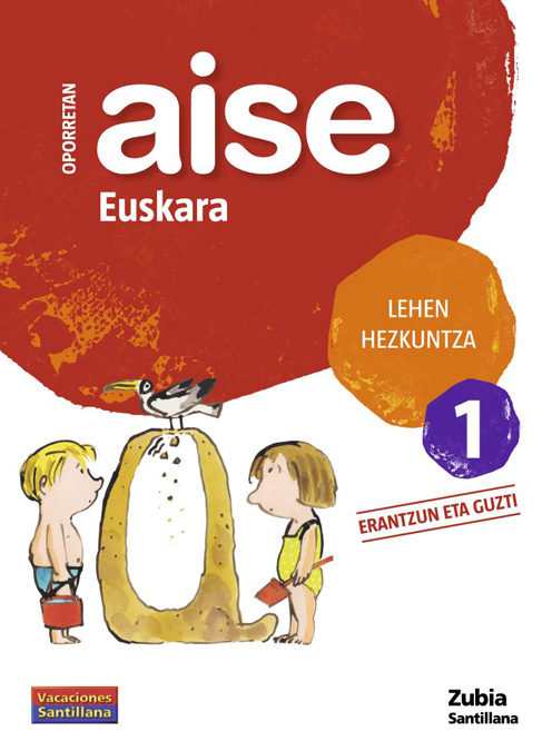 Lh 1 Oporrak Aise Euskara - Vv.aa.