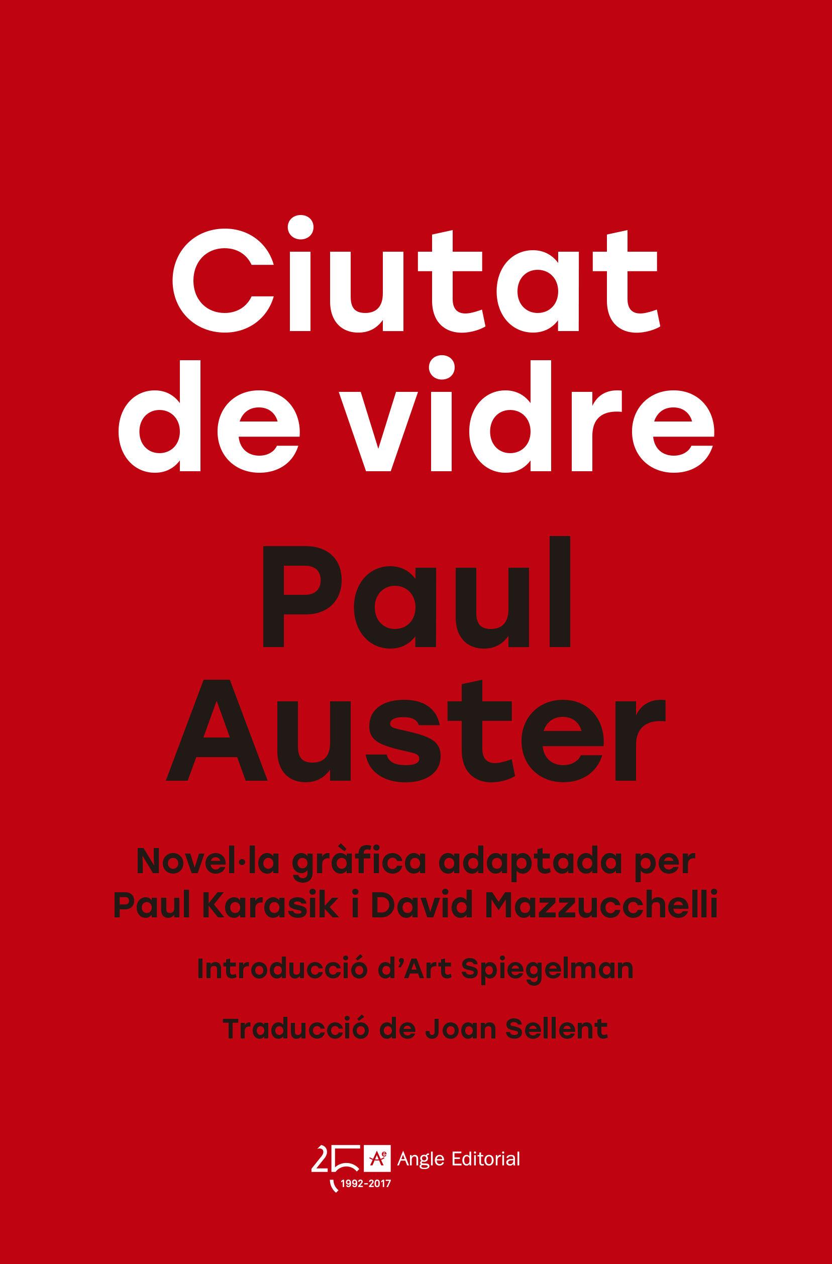 Ciutat De Vidre - Auster Paul