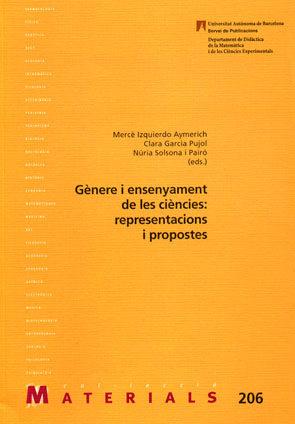 Genere I Ensenyament De Les Ciencies: Representacions I Propostes - Izquierdo Aymerich Merce