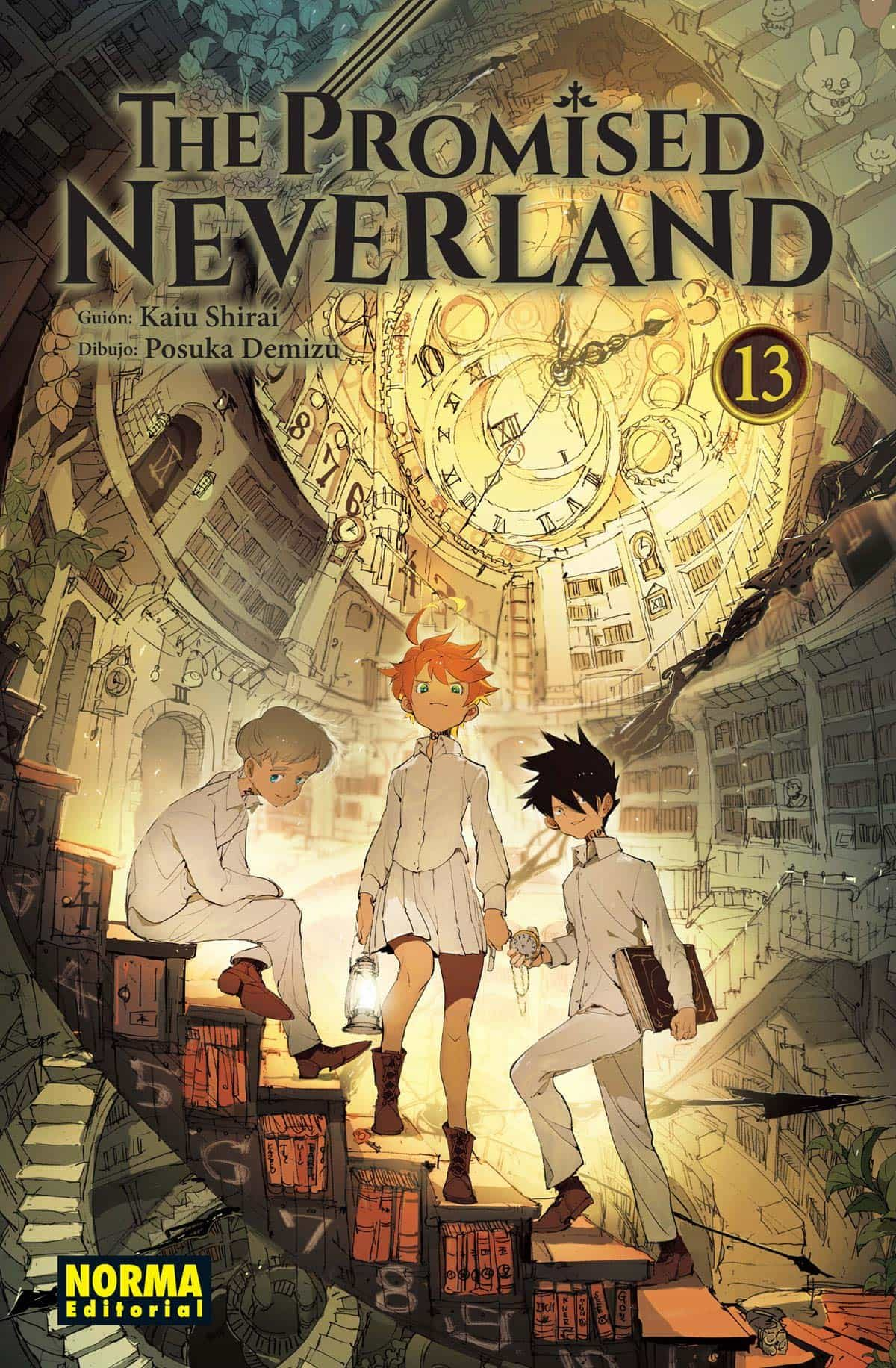 The Promised Neverland 13 - Shirai Kaiu
