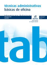 Cpi - Tecnicas Administrativas Basicas De Oficina - Vv.aa.