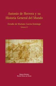 Antonio De Herrera Y Su Historia General Del Mundo Vol. 4 - Cuesta Domingo Mariano