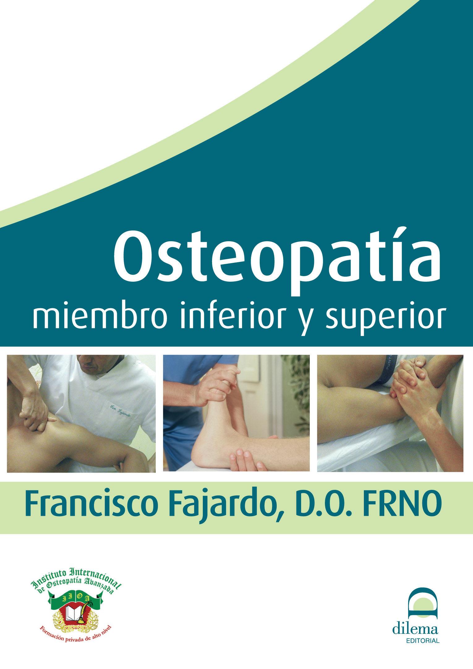 Osteopatia Miembro Inferior Y Superior (dvd) - Fajardo Ruiz Francisco