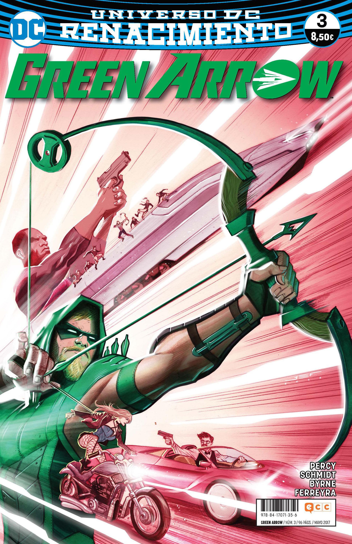 Green Arrow Vol. 2 Nº 03 (renacimiento) - Percy Benjamin
