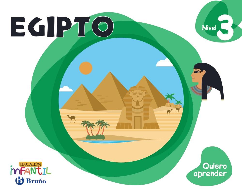 Quiero Aprender Infantil 5 Años Nivel 3 Egipto - Vv.aa.