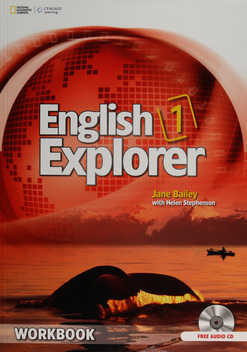 English Explorer 1 Workbook With Audio Cd - Vv.aa.