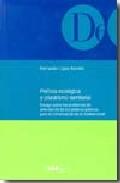 Politica Ecologica Y Pluralismo Territorial: Ensayo Sobre Los Pro Blem - Lopez Ramon Fernando