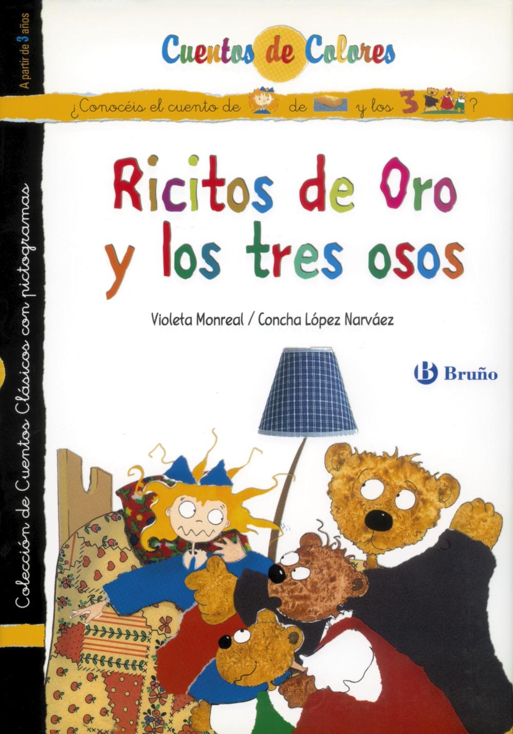 Ricitos De Oro (cuentos De Colores) - Vv.aa.
