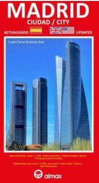 Madrid Ciudad Plano 1:12.000 Español Inglés - Vv.aa.