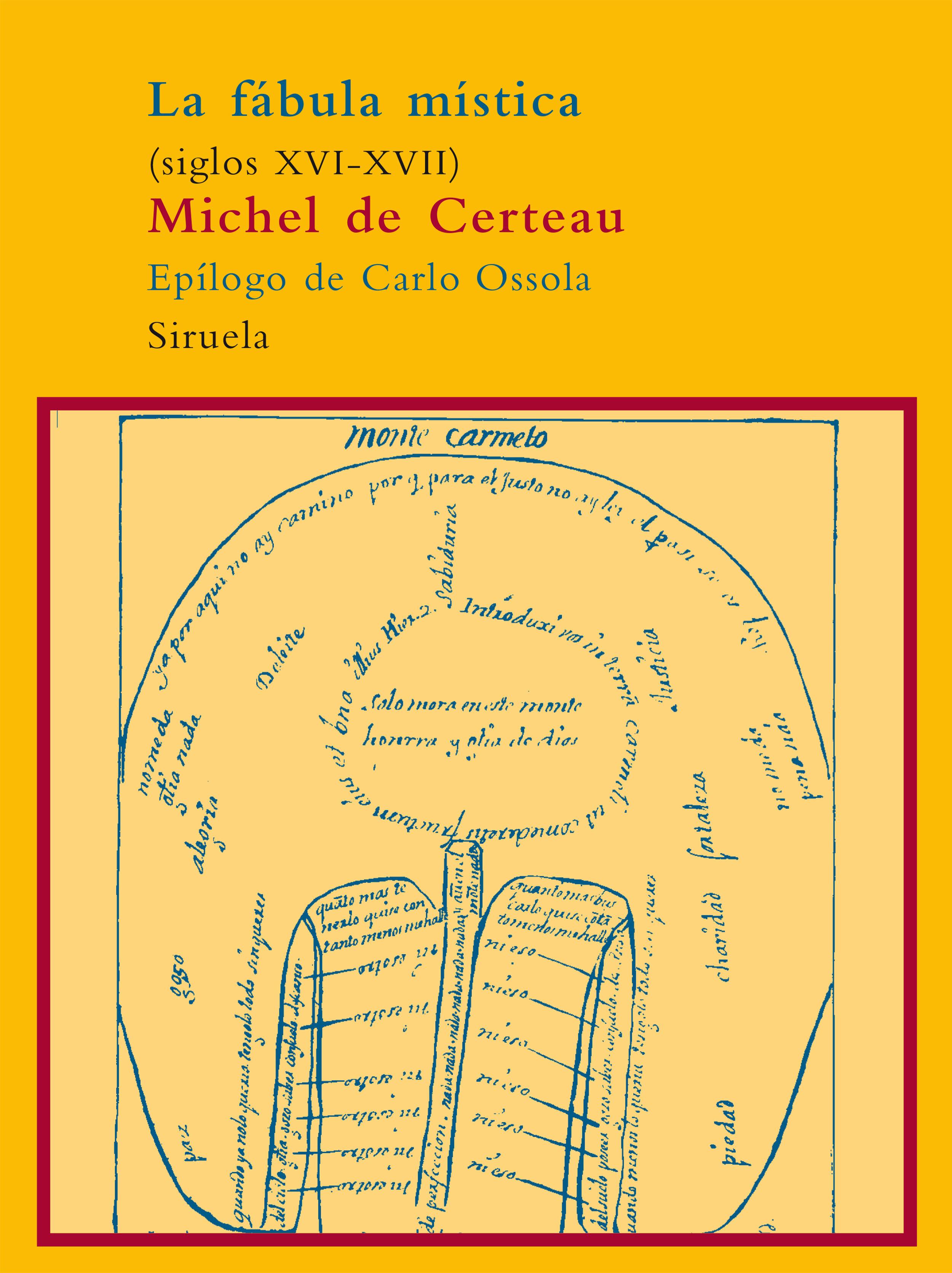 La Fabula Mistica Siglos Xvi-xvii - Certeau Michel De