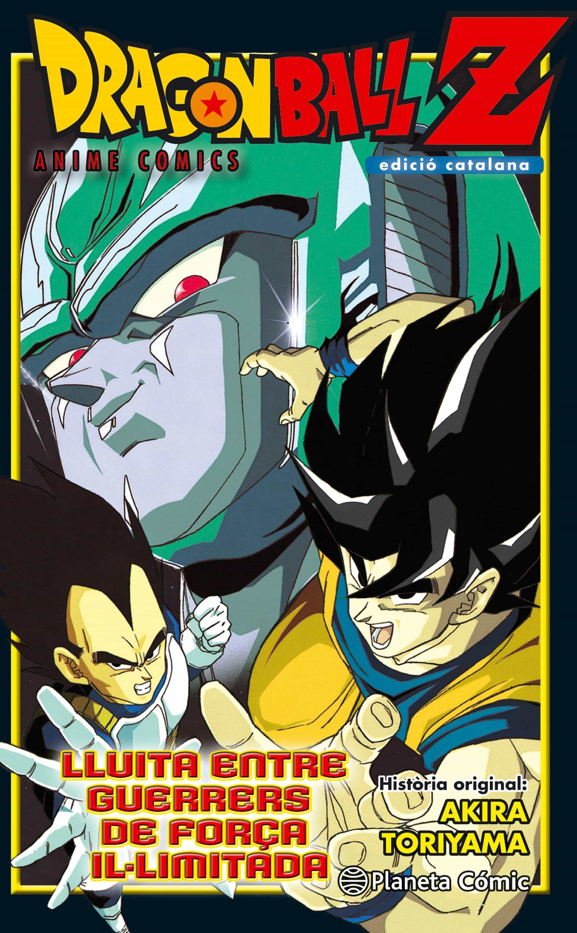 Bola De Drac Z Anime Comic ¡¡choque!! Guerreros De 10.000.000.000 Pode - Toriyama Akira