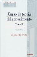 Curso De Teoria Del Conocimiento T.2 4ªed - Polo Leonardo