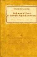 Suplemento Al Tesoro De La Lengua Española Castellana - Covarrubias Orozco Sebastian De