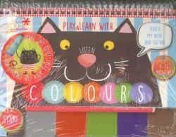 Baby Book Play & Learn With Colours - Perarnau Natalia