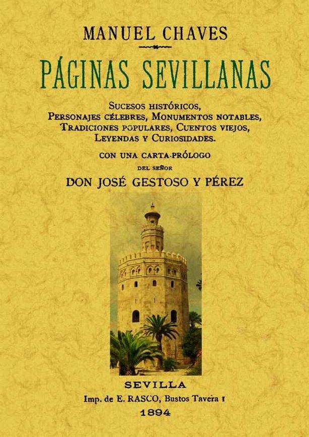 Paginas Sevillanas (facsimil) - Chaves Rey Manuel