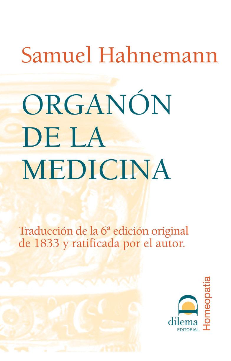 Organon De La Medicina - Hahnemann Samuel