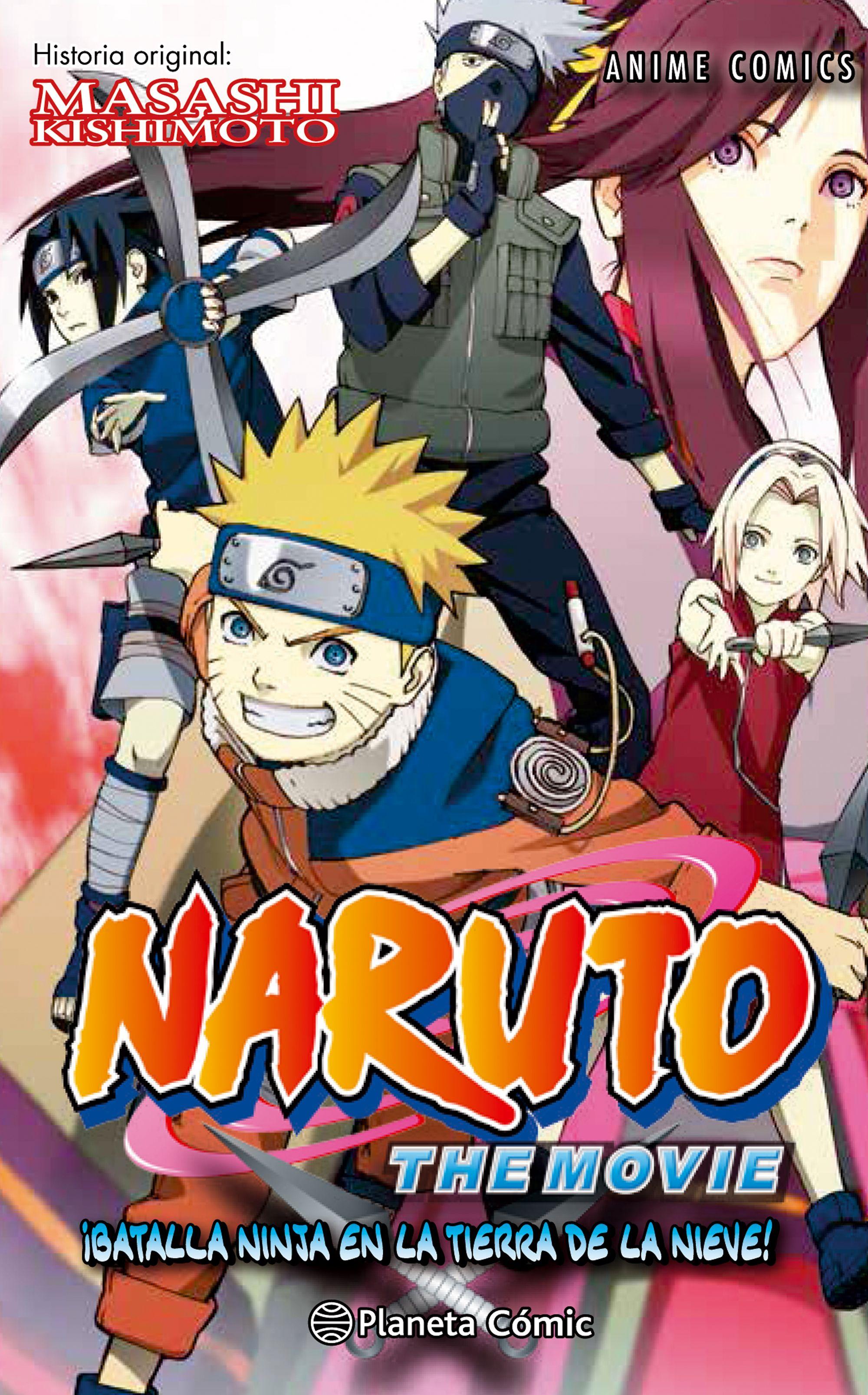 Naruto Anime Comic Nº02 - Kishimoto Masashi