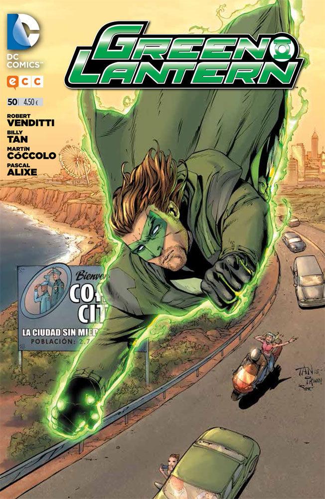 Green Lantern Nº 49 - Venditti Robert