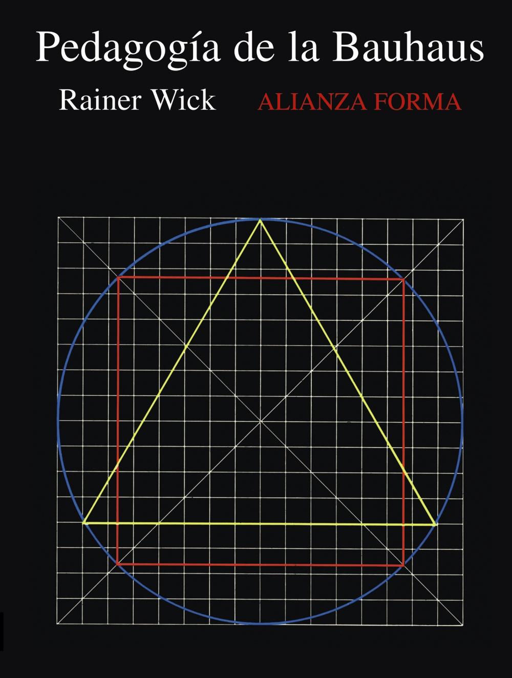 La Pedagogia De La Bauhaus - Wick Rainer
