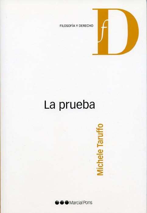 La Prueba - Taruffo Michele