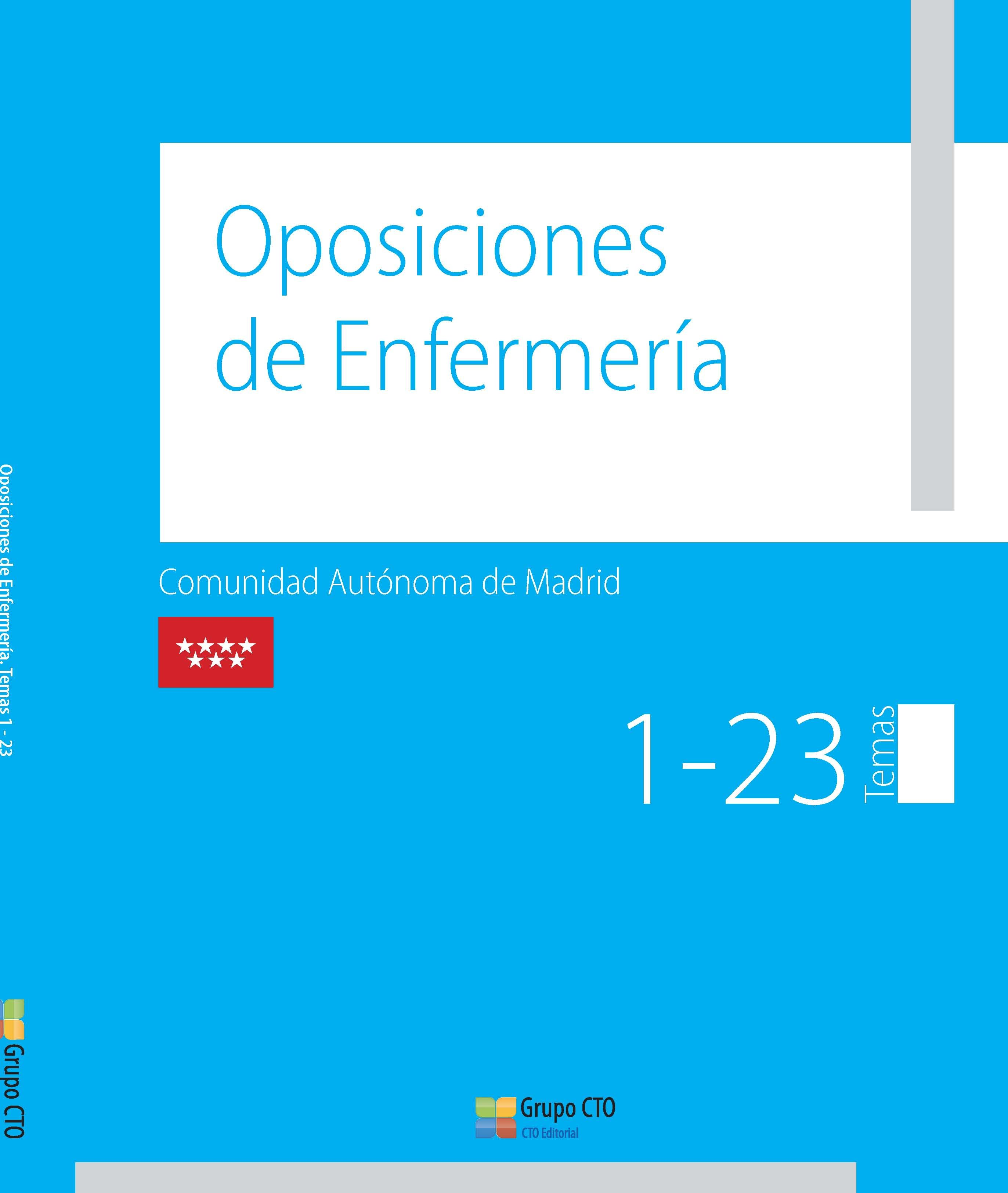 Manual Cto De Oposiciones De Enfermería - Comunidad De Madrid (obra Co - Vv.aa.