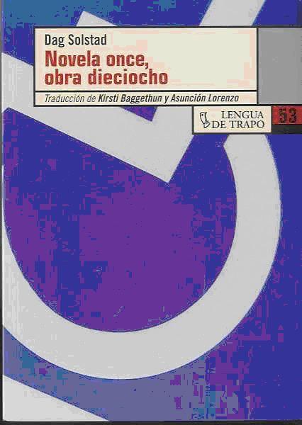 Novela Once Obra Dieciocho - Solstad Dag