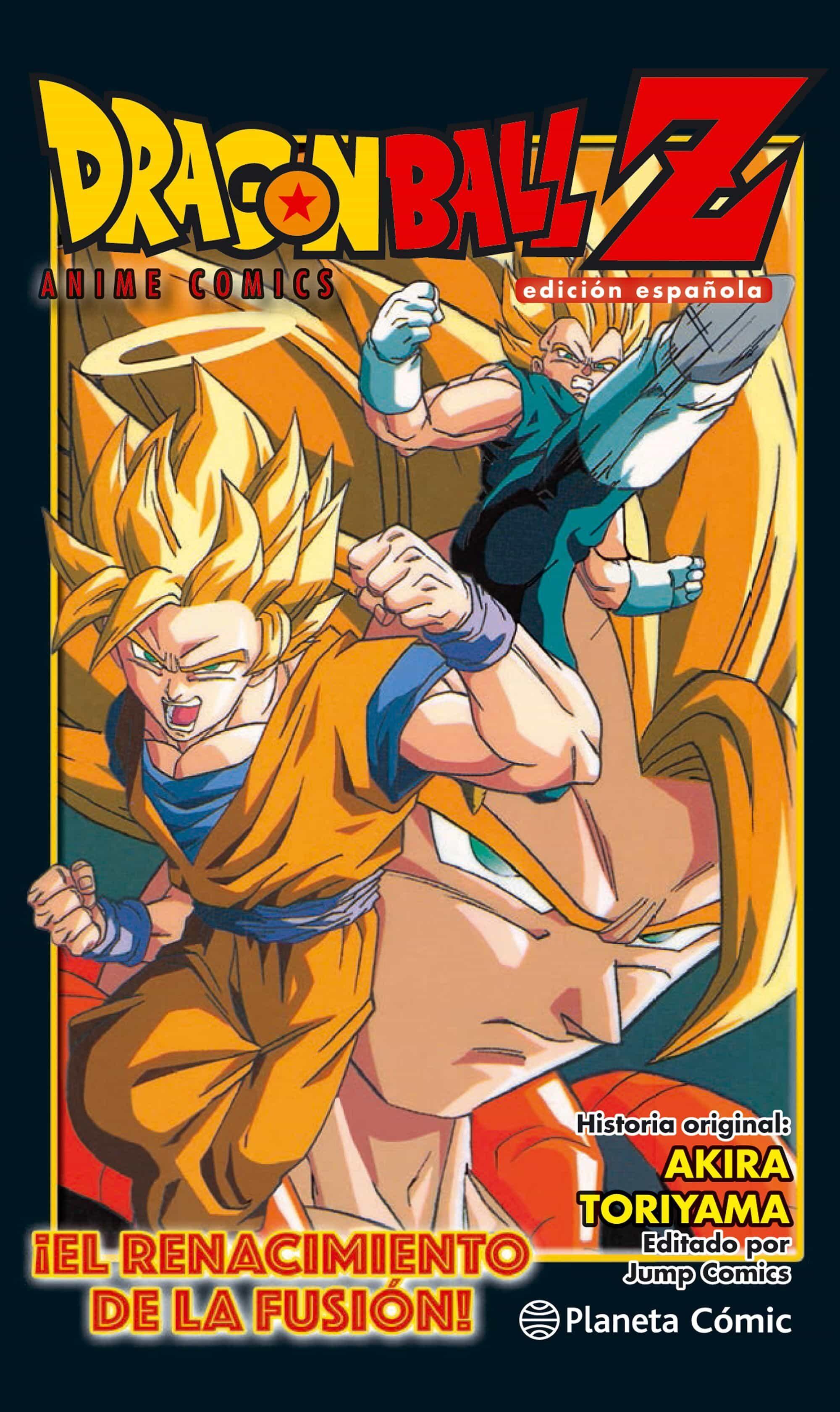 Dragon Ball Z Anime Comic ¡el Renacimiento De La Fusion! - Toriyama Akira