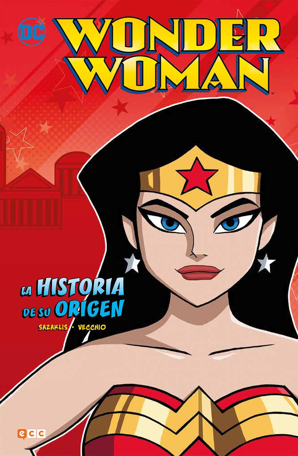 Wonder Woman: La Historia De Su Origen - Sazaklis John