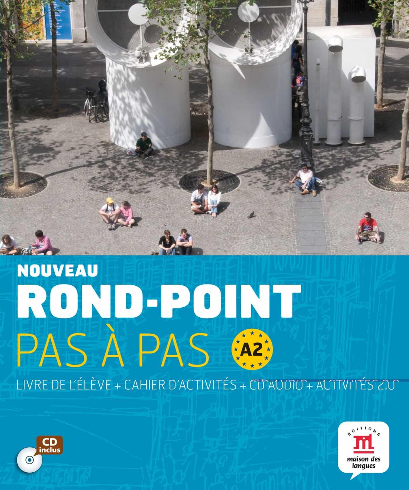 Rond-point Pas A Pas A2 (contiene Libro Del Alumno El Cuaderno D E Eje - Vv.aa.