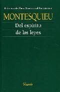Del Espiritu De Las Leyes - Montesquieu Charles Louis De Secon