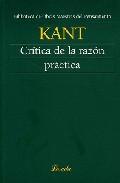 Critica De La Razon Practica - Kant Immanuel