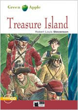 Treasure Island + Cd (black Cat Green Apple) - Stevenson Robert Louis