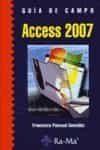 Guia De Campo Access 2007 - Pascual Gonzalez Francisco