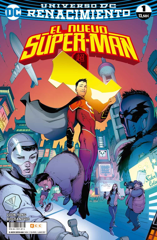 El Nuevo Superman Nº 01 (renacimiento) - Luen Yang Gene