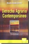 Derecho Agrario Contemporaneo - Zeledon Zeledon Ricardo