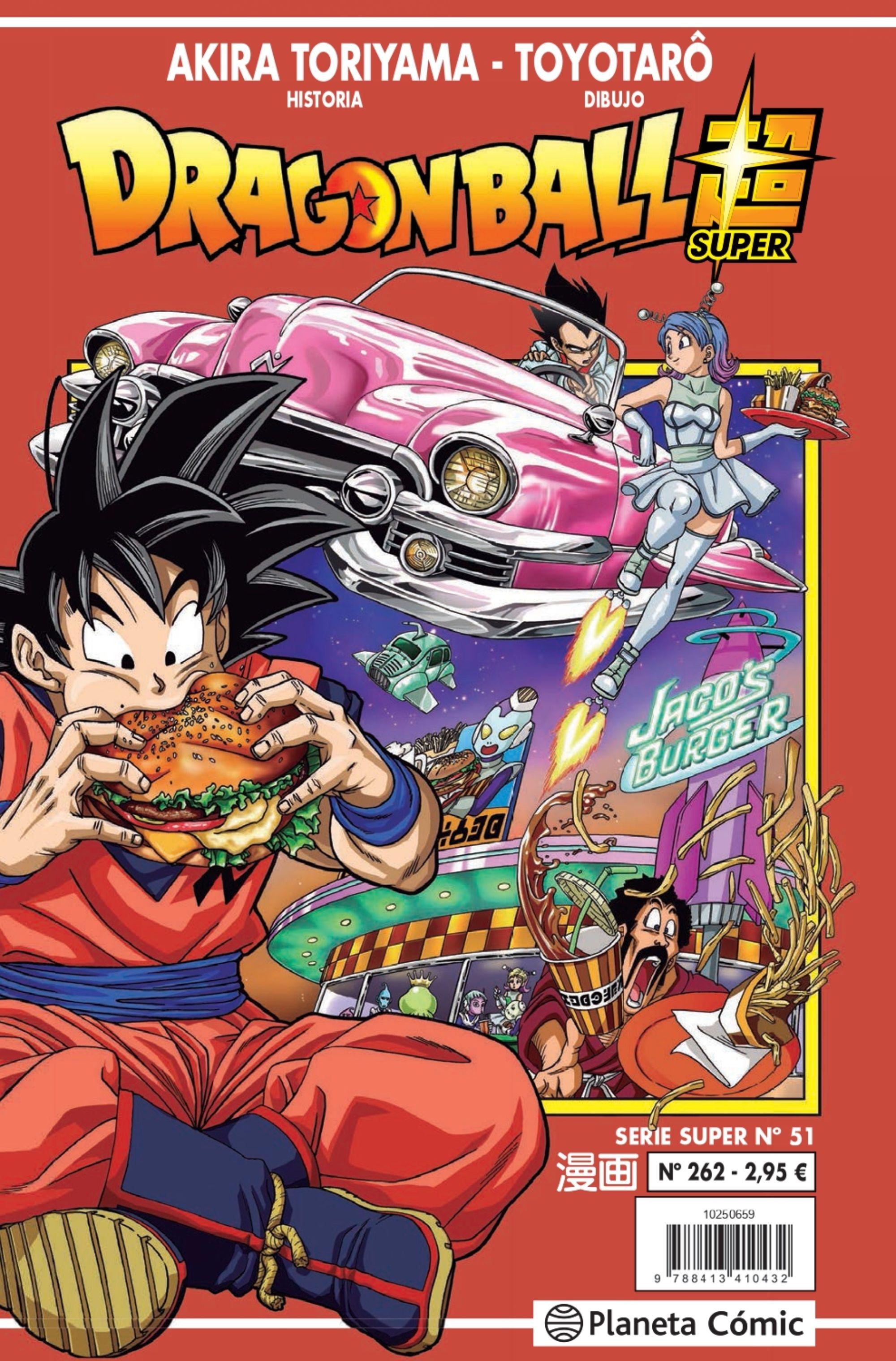 Dragon Ball Serie Roja Nº 262 - Toriyama Akira