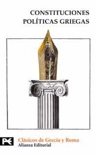 Constituciones Politicas Griegas (aristoteles El Viejo Oligarca Jenofo - Vv.aa.