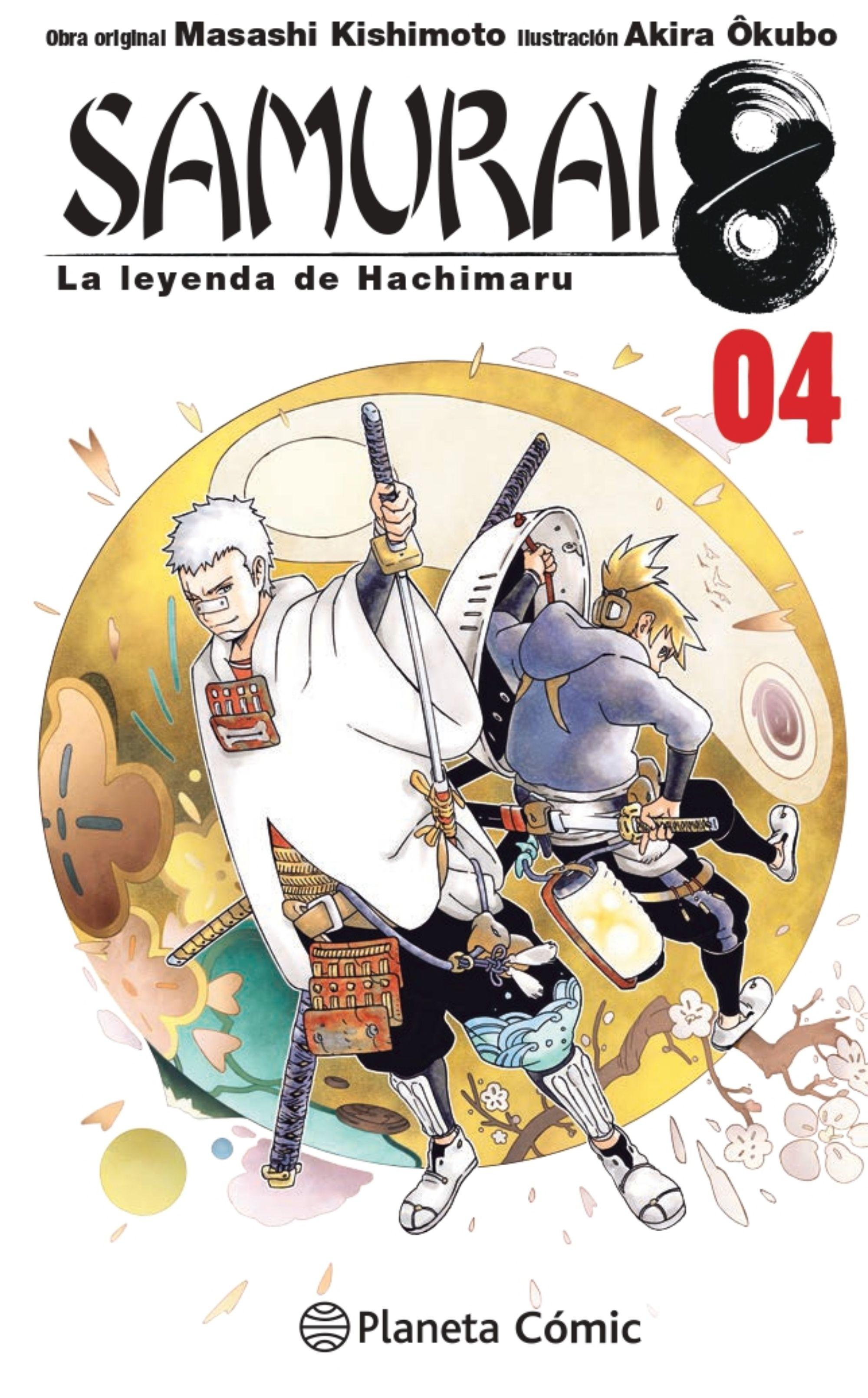 Samurai 8 Nº 04/05: La Leyenda De Hachimaru - Kishimoto Masashi