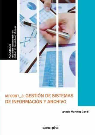 Mfo987 Gestion De Sistemas De Informacion Y Archivo - Martinez Candil Ignacio