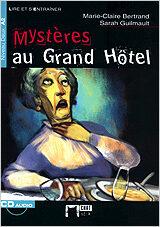 Mysteres Au Grand Hotel (niveaux Deux A2)(cd) - Bertrand Marie-claire