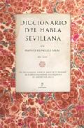 Diccionario Del Habla Sevillana - Gonzalez Salas Manuel