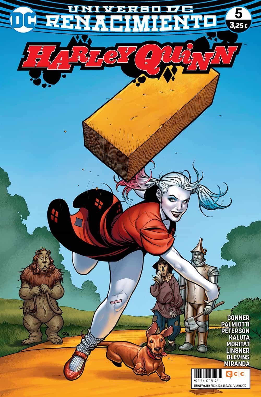 Harley Quinn Nº 13/ 5 (renacimiento) - Conner Amanda