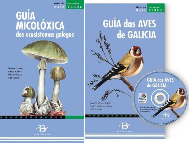 Pack Guia Micoloxica Dos Ecosistemas Galegos + Guia Das Aves De Galici - Vv.aa.