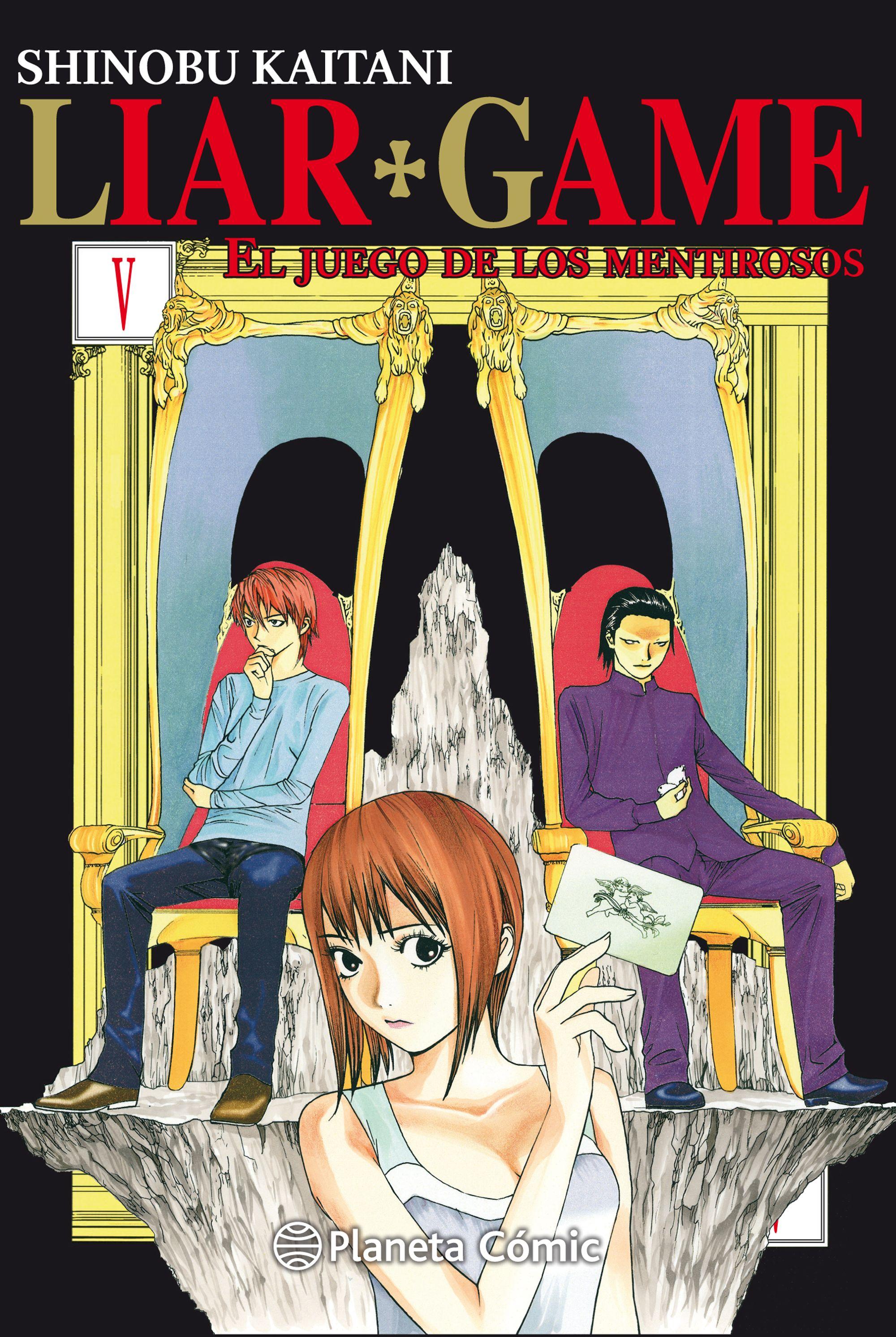 Liar Game Nº 05/19 (nueva Edición) - Kaitani Shinobu
