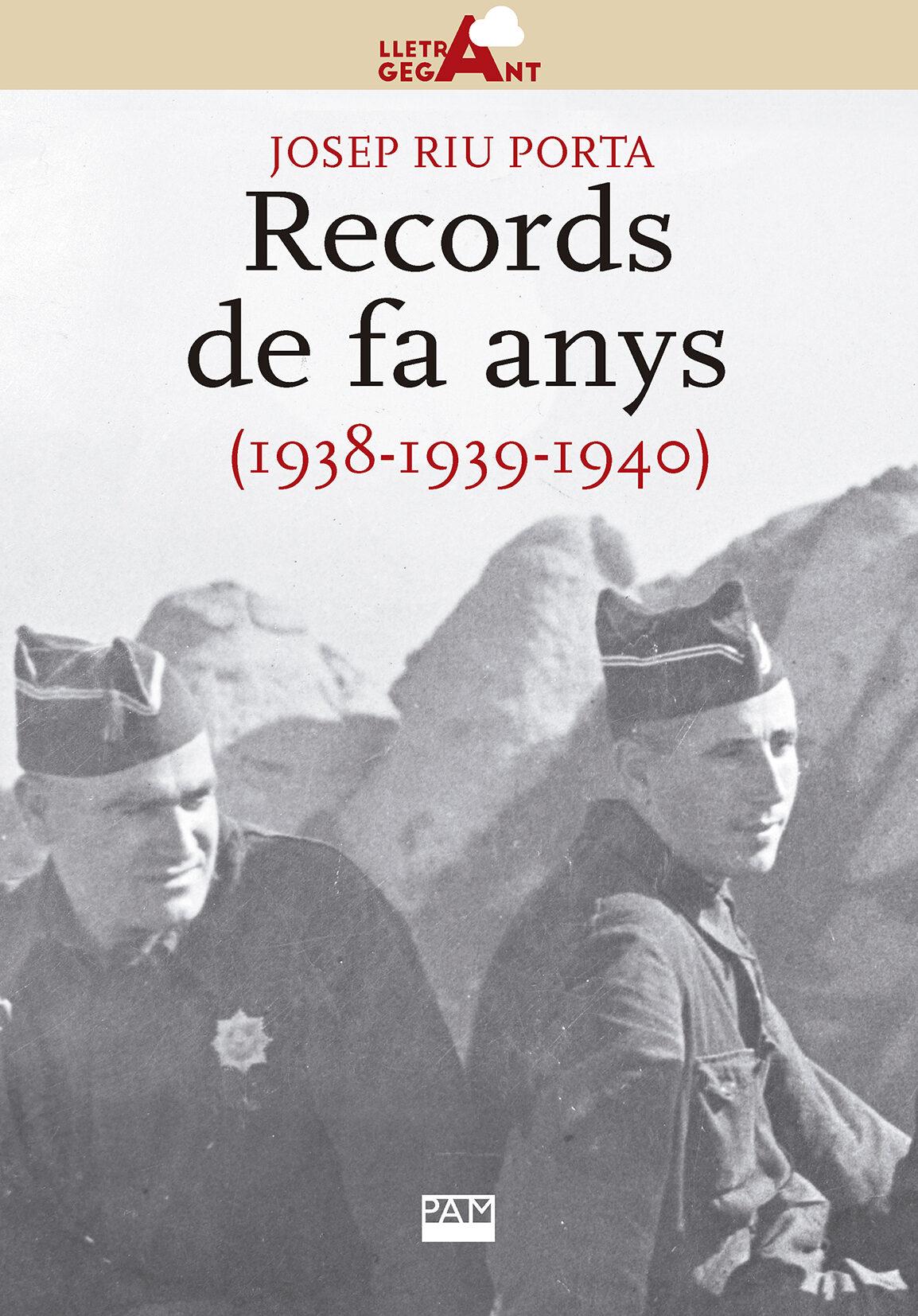 Records De Fa Anys (1938-1939-1940) - Riu Porta Josep