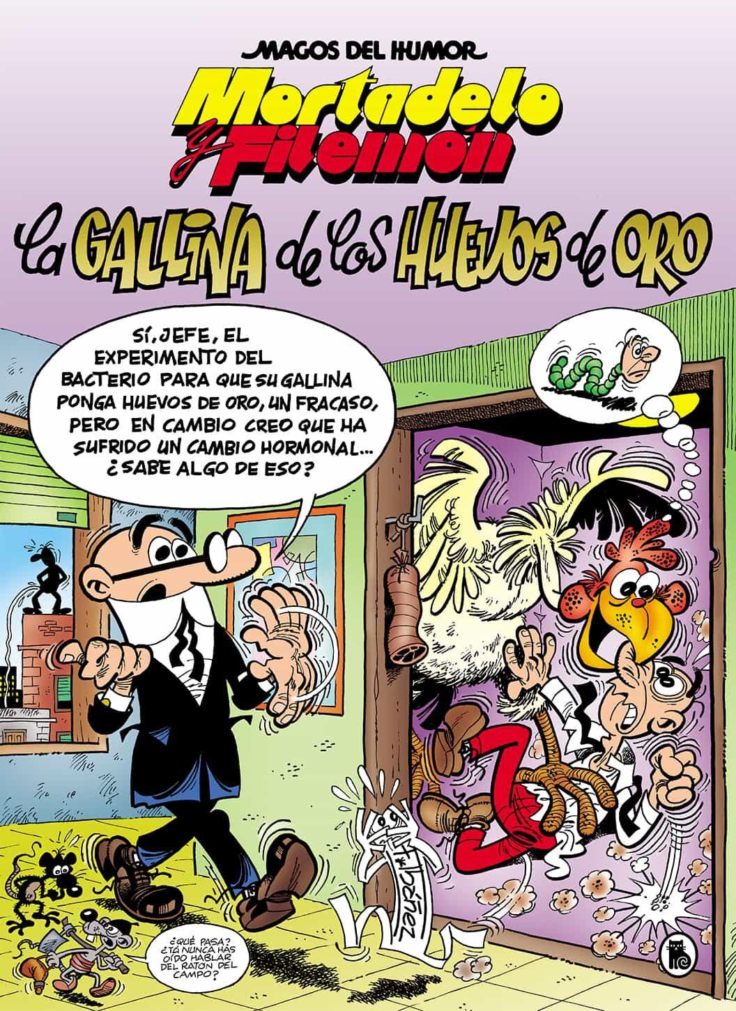 Mortadelo Y Filemon: La Gallina De Los Huevos De Oro (magos Del Humor - Ibañez Francisco