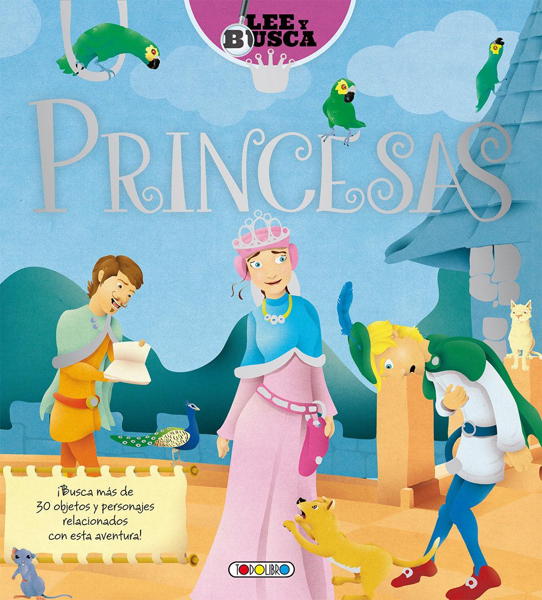 Princesas: Lee Y Busca - Vv.aa.