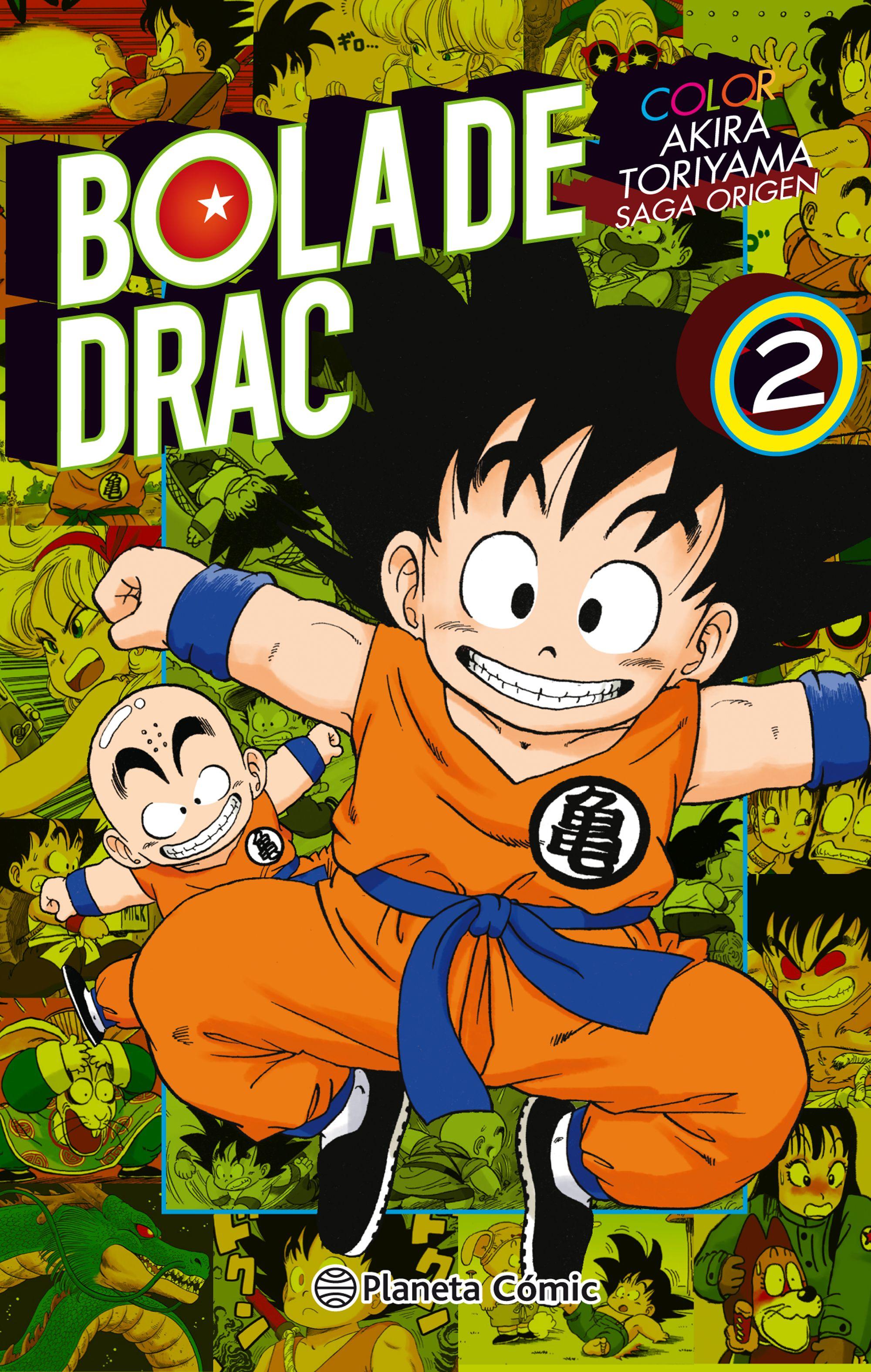 Bola De Drac Color Origen Y Cinta Vermella Nº02/08 - Toriyama Akira