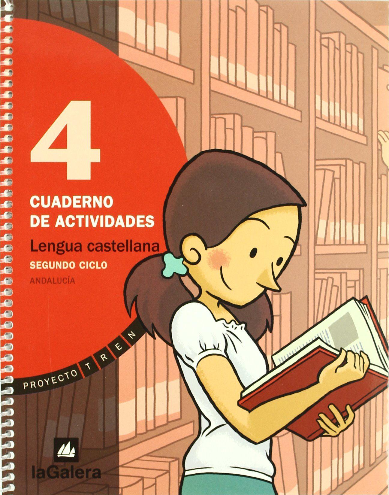 Tren Lengua 4. Cuaderno Actividades (andalucia) Proyecto Tren - Vv.aa.